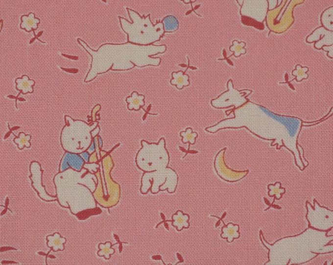 Maywood fabric nursery rhyme fabric Hey Diddle Diddle