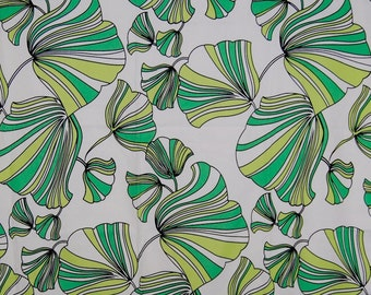 Modern tropical Upholstery Fabric Ginkgo leaf