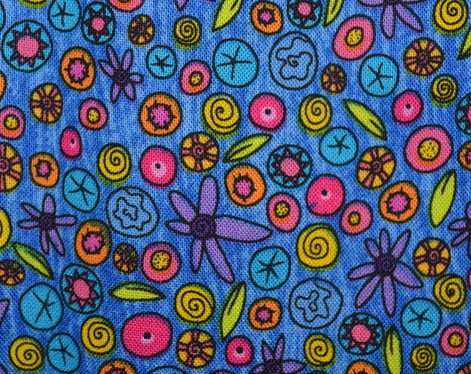Whimsical floral fabric, Jan Mullen Marcus Brothers