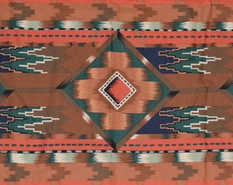 Aztec fabric Southwestern fabric blanket stripe Alexander Henry