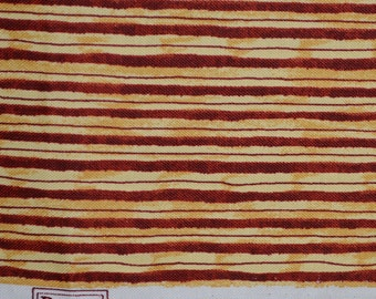Debbie Mumm striped fabric, SSI fabrics