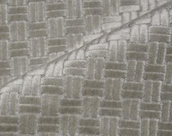 Velvet geometric modern upholstery fabric grandmilllennial