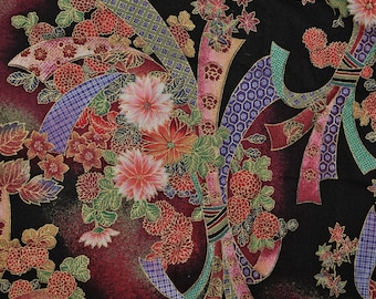 Fabric Asian Japanese quilting cotton The Kesslers Concord fabric
