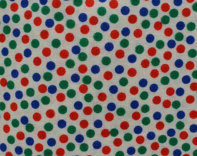 Retro polka dot fabric circle dot small Polka dot Marcus Brothers