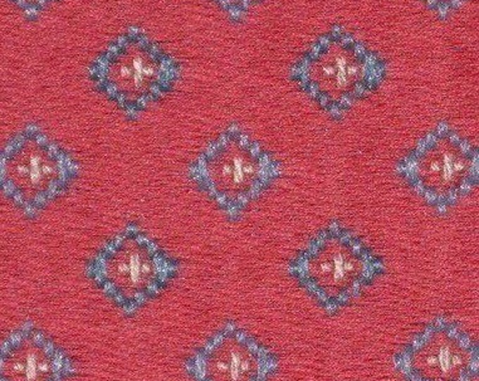 Southwest decor Woven upholstery fabric by the yard, high end, geo diamond pattern