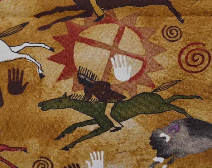 Native American fabric, Michael Miller fabrics, Tetonka