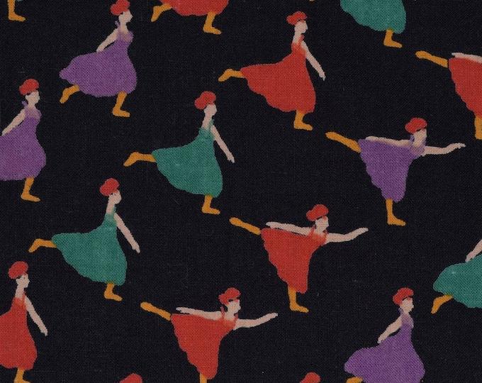Ballet dancer fabric women dancing cotton voile fabric