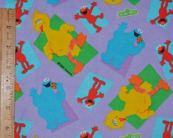 Sesame Street character Cotton flannel fabric