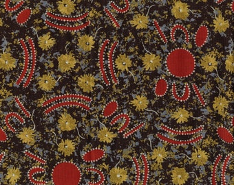 Aboriginal fabric, Australian fabric, Peggy Brown M and S Textiles