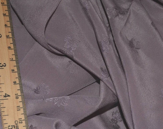 Jacquard Silk fabric by the yard woven pattern