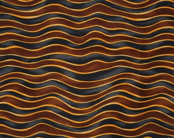 Striped patterned fabric, In the Beginning quilt fabric