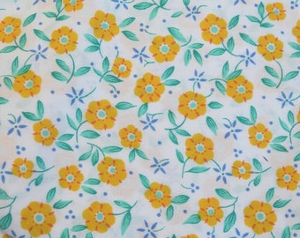 Light weight fabric iusaela Small floral fabric vintage wash and wear
