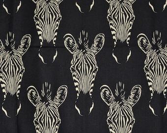 Alexander Henry fabric, zebra print fabric, Zahara, Nicole de leon