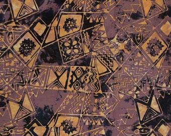 Batik Tribal fabric, Tapa Hawaii Polynesian