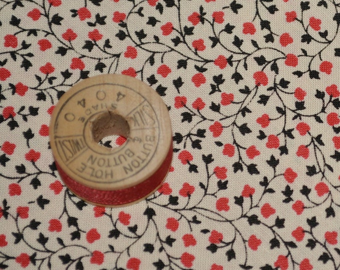Micro scale fabric, Tiny floral print fabric