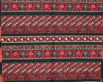 Native fabric, Aztec stripe, Southwest fabric Blender Michael Miller HALF YARD