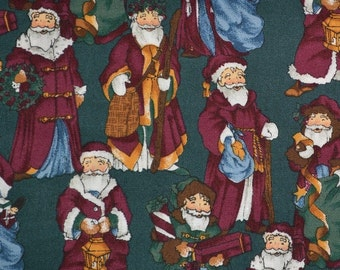 Old World Santa fabric Nordic Santa Alexander Henry Christmas