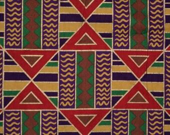 Ethnic print fabric Tribal fabric African pattern fabric geometric pattern