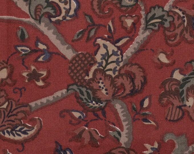 Liberty of London fabric remnant India kalamkari fabric
