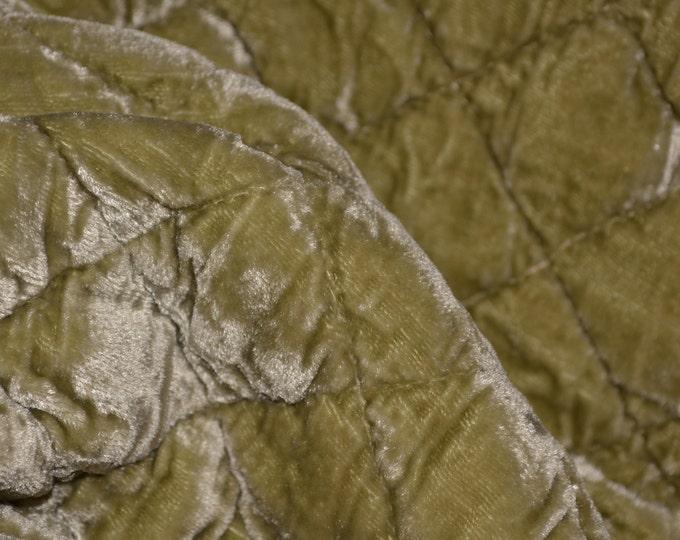 grandmilllennial Bella Notte fabric Rayon Silk velvet quilted fabric