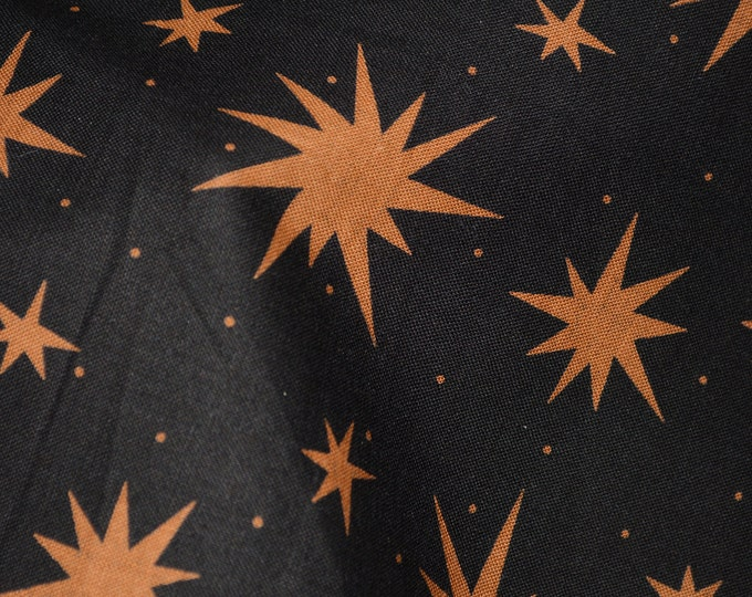Celestial stars fabric, Fall Colors, Autumnal