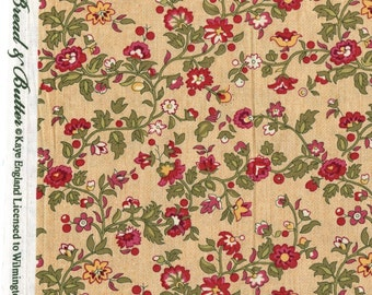 Victorian floral fabric, Kaye England Wilmington