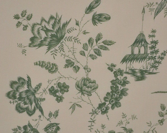 Lee Jofa upholstery fabric Pillement Chinoiserie toile Christopher Moore