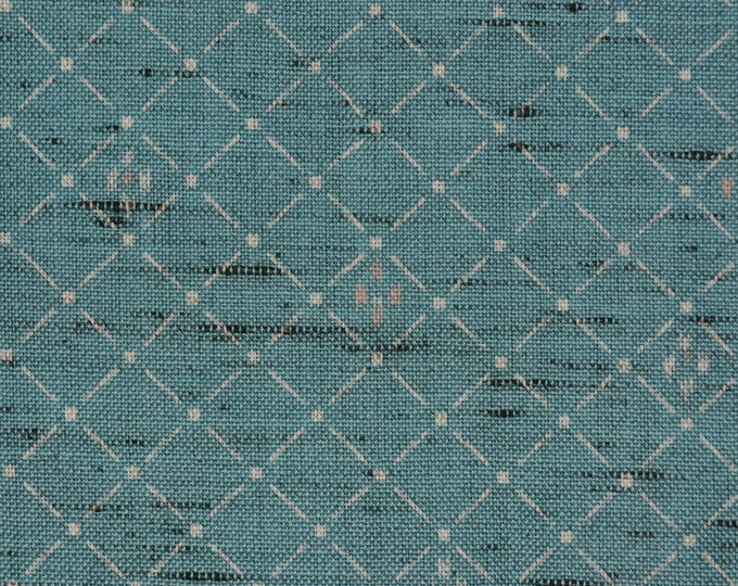 Vintage Japanese wool fabric by the yard