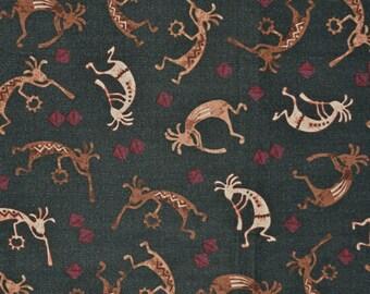 Southwest fabric, Kokopelli fabric, Michael Miller
