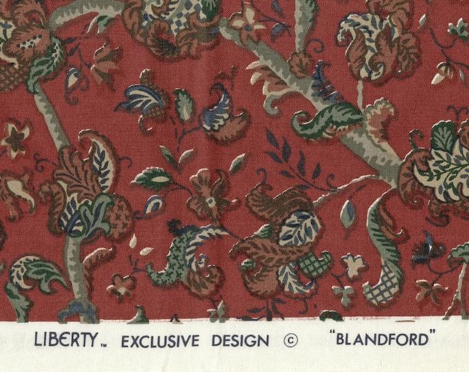 Liberty of London upholstery fabric, Bombay Ibiza