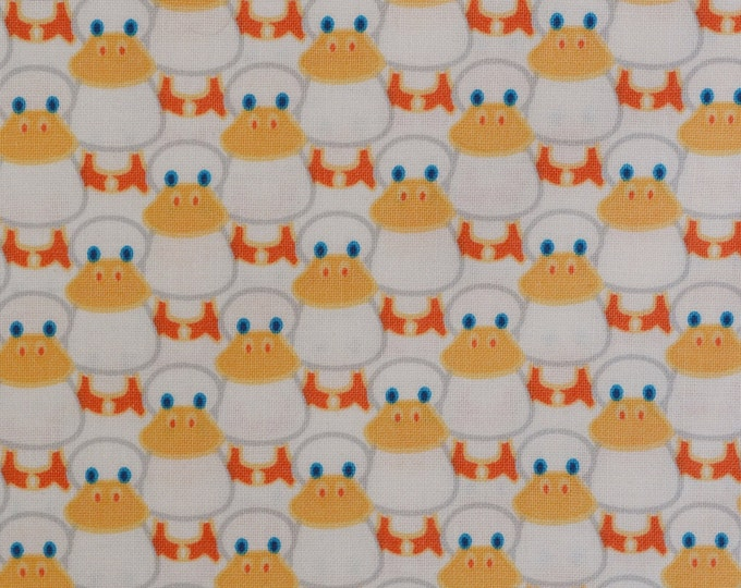 Duck Duck Goose baby duck baby shower decor or quilting fabric