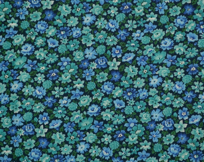 Small floral print fabric, VIP Print fabric for face masks