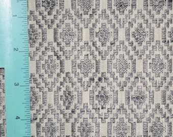 upholstery fabric with Aztec pattern
