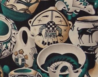 Michael Miller Navajo pottery fabric