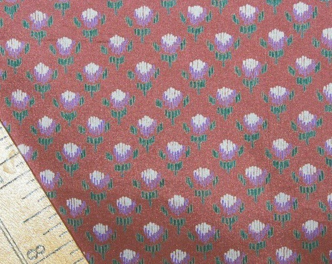Pure Silk fabric tiny Floral silk fabric