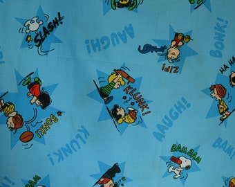 Charlie Brown fabric Peanuts Snoopy fabric Springs fabric