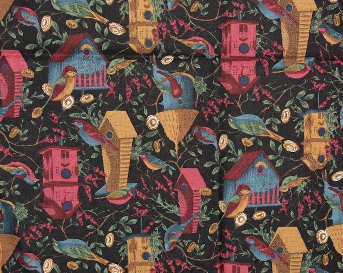 Birdhouse fabric, Hoffman International County Fair