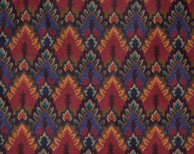Waverly fabric flame stitch upholstery fabric