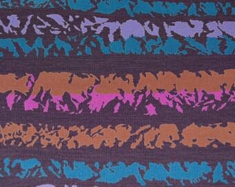 Bill Blass 90s fabric abstract multicolored striped fabric