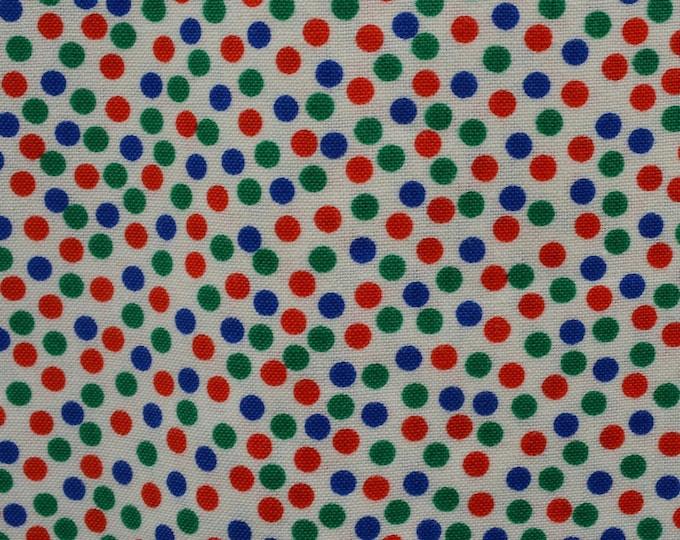 Cheerful fabric, polka dot fabric for face masks