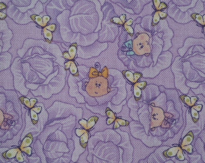 Andover fabric lavender baby fabric cabbage patch