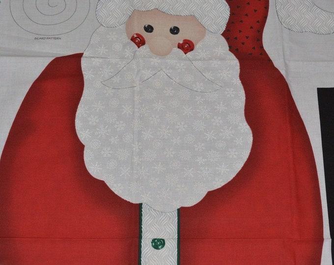 Santa fabric door panel kit, Daisy Kingdom Christmas
