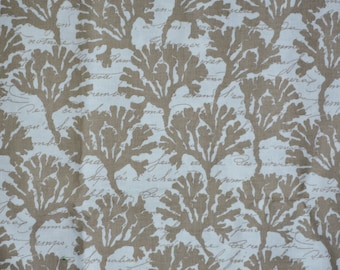 Fabric with Sea coral Michael Miller Gillian Fullard