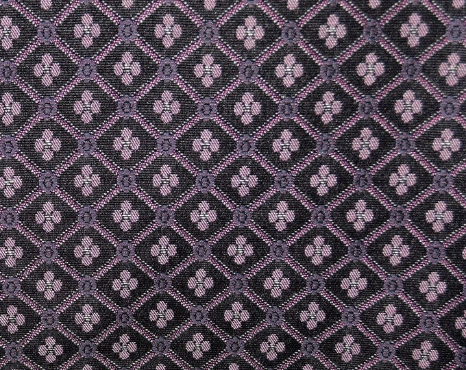 Geometric floral upholstery fabric, jacquard upholstery cherry blossoms