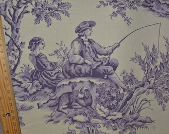 Items Similar To Waverly Country House Toile Deep Red Toile