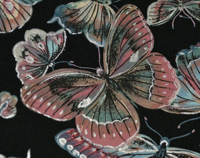 Butterfly moth fabric, rare fabric by Gutcheon American Classic Line