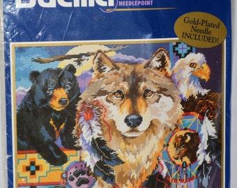 Bucilla kits, Needlepoint kit, Native American Dreamcatcher