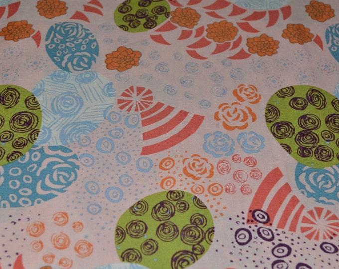 OOP Alexander Henry Japanese fabric Mod Japanese floral Yen Rose