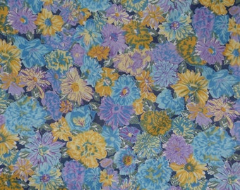 Cotton voile fabric floral fabric possibly a Liberty