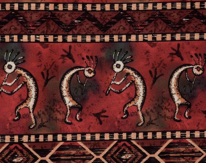 Southwest fabric, Kokopelli fabric, striped fabric Michael Miller KOKO-2